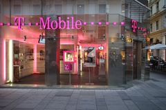 T Mobile Royalty Free Stock Photography