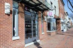 T-Mobile w Starym Grodzkim Aleksandria, Virginia Obraz Stock