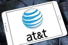 AT&T mobilnego operatora logo Obrazy Royalty Free