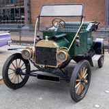 T Model Ford. Restored vintage Model T Ford royalty free stock image