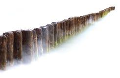 tła mola biel Zdjęcia Stock