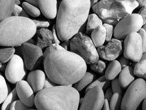 Tła morza kamienie Obrazy Royalty Free