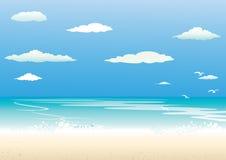 tła morze Obrazy Royalty Free