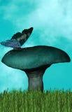 tła motyla magia Obrazy Royalty Free