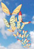 tła motyla wektor Zdjęcia Stock