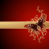 tła motyla wektor Obraz Stock