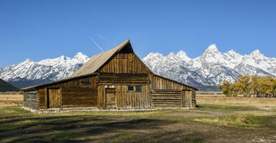 T.A. Moultan Barn at Grand Teton National Park Royalty Free Stock Images