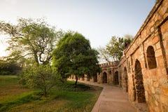 T?mulo de Isa Khan em Deli, ?ndia imagem de stock royalty free