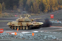 T-72 Royalty Free Stock Photography