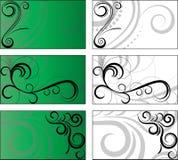 tło 6 projektów Zdjęcia Stock