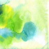 tło abstrakcjonistyczna akwarela Zdjęcie Stock