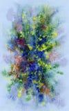 tło abstrakcjonistyczna akwarela Zdjęcia Royalty Free
