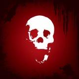tło abstrakcjonistyczna czaszka Zdjęcie Royalty Free