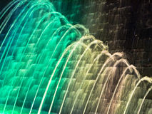 tło abstrakcjonistyczna fontanna Zdjęcia Stock
