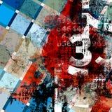 tło abstrakcjonistyczna literówka Obrazy Stock