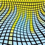 tło abstrakcjonistyczna mozaika Obrazy Stock