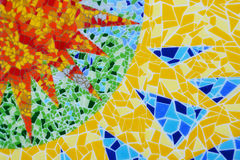 tło abstrakcjonistyczna mozaika royalty ilustracja