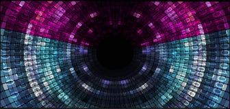 tło abstrakcjonistyczna technologia Fotografia Royalty Free
