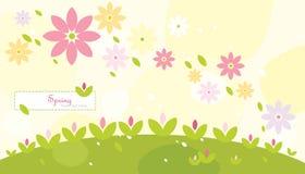 tło abstrakcjonistyczna wiosna Zdjęcia Stock