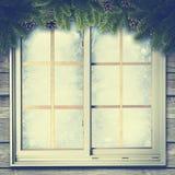 tło abstrakcjonistyczna zima Zdjęcie Stock