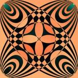 tło abstrakcjonistyczne formy Obraz Royalty Free