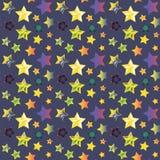 tło abstrakcjonistyczne gwiazdy Zdjęcie Stock