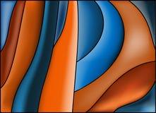 tło abstrakcjonistyczne linie Obraz Royalty Free