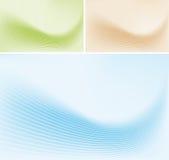 tło abstrakcjonistyczne linie Obraz Stock