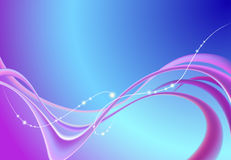 tło abstrakcjonistyczne purpury Ilustracja Wektor