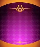tło abstrakcjonistyczne purpury Obraz Royalty Free