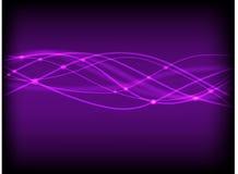 tło abstrakcjonistyczne purpury Zdjęcie Stock