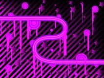 tło abstrakcjonistyczne purpury Zdjęcia Stock