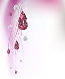 tło abstrakcjonistyczni diamenty Zdjęcia Royalty Free