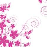 tło abstrakcjonistyczni kwiaty Obraz Stock