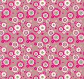 tło abstrakcjonistyczni kwiaty Fotografia Stock