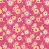 tło abstrakcjonistyczni kwiaty Zdjęcia Stock