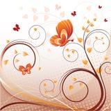 tło abstrakcjonistyczni motyle Zdjęcie Royalty Free