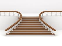 tło abstrakcjonistyczni schodki ilustracja wektor
