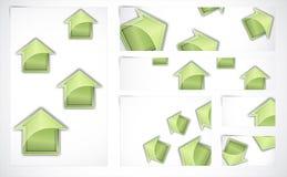 tło abstrakcjonistyczni sztandary Obraz Stock