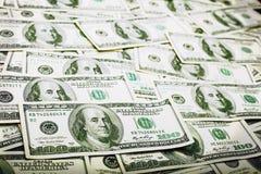 tło abstrakcjonistyczny dolar Fotografia Stock