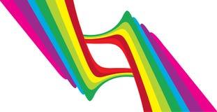 tło abstrakcjonistyczny kolor Obrazy Royalty Free