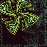 tło abstrakcjonistyczny kwiat Obraz Stock