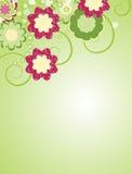 tło abstrakcjonistyczny kwiat Fotografia Stock