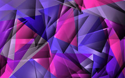 tło abstrakcjonistyczny wielobok Obrazy Royalty Free