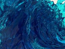 tło abstrakcyjna fale Obraz Stock