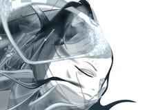 tło abstrakcyjna kobieta Obrazy Stock