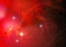 tło abstrakcyjna nebula Zdjęcia Royalty Free