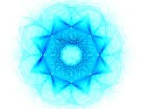 tło abstrakcyjna projektu fractal gwiazda Ilustracji