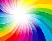 tło abstrakcyjna rainbow Obrazy Royalty Free