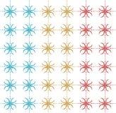 Tło abstrakta wzoru kolor Obrazy Royalty Free